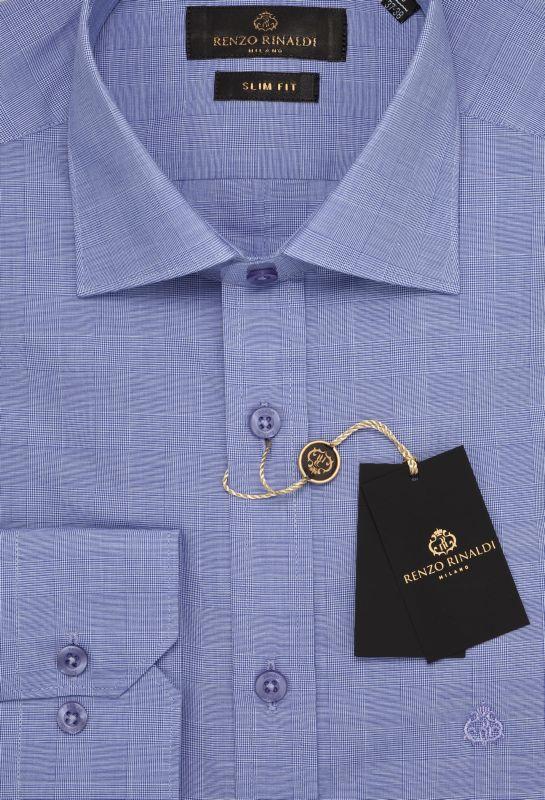Мужская рубашка приталенная Renzo-Rinaldi