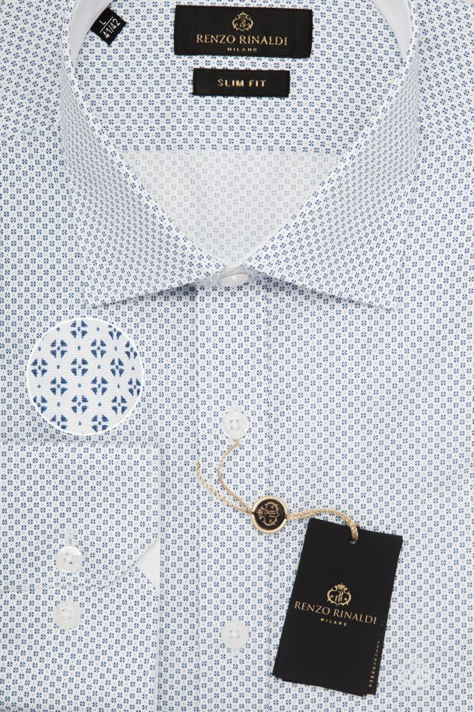 Мужская рубашка приталенная Renzo Rinaldi